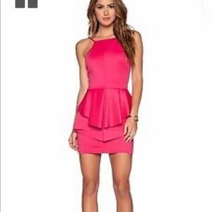 REVOLVE Oh My Love Peplum Mini Dress